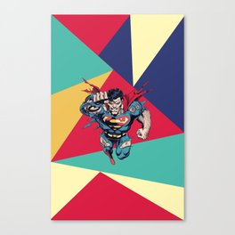 Superman Canvas Print