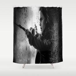 Hermione dark Shower Curtain