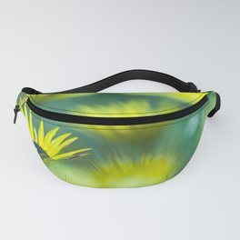 The beauty of yellow daisies II Fanny Pack