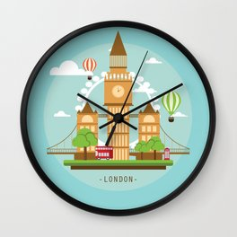 London,England Wall Clock