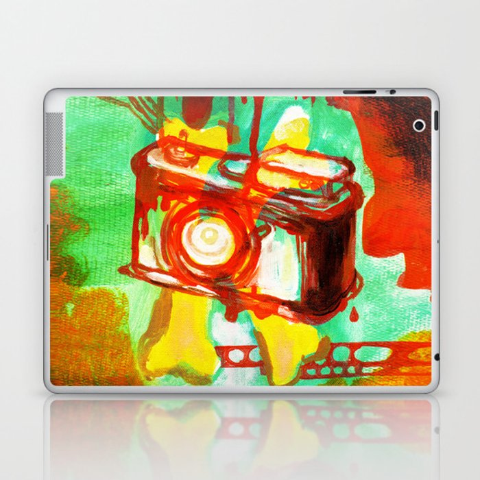 please take a picture of me? Laptop & iPad Skin