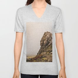 Behind The Clouds Unisex V-Neck