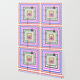 Rectangular all over Wallpaper