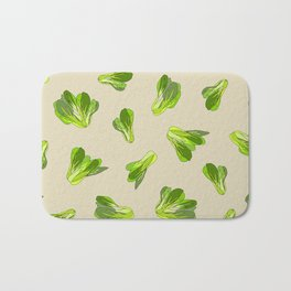 Bok Choy Vegetable Bath Mat