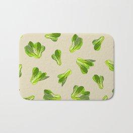 Lettuce Bok Choy Vegetable Bath Mat