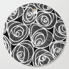 Midnight Roses Cutting Board