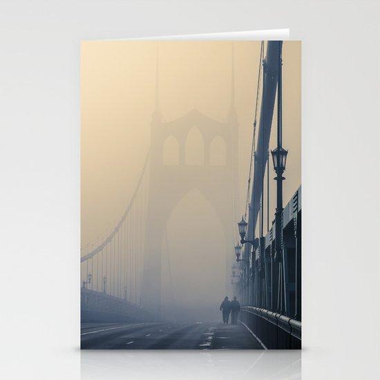 Gothic Fog Stationery Cards