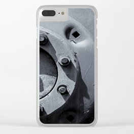 Wheel Bolts in Metal Clear iPhone Case