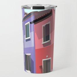 Burano houses Travel Mug