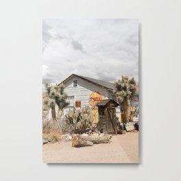 Arizona Desert Sun Photo Print | Historic Famous Route 66 Scene Art | USA Digital Travel Photography Metal Print