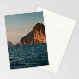 El Nido at Sunset Stationery Cards