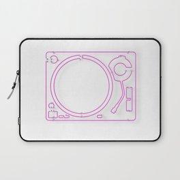 Neon Turntable 2 - 3D Art Laptop Sleeve