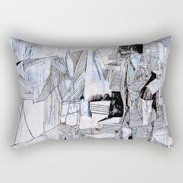 Distant Folding Rectangular Pillow