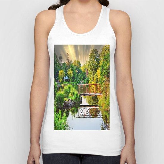 Nature's Reflections Unisex Tank Top