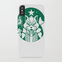 starfox iPhone & iPod Cases featuring Starfox Coffee by Jimiyo
