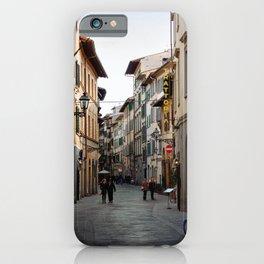 Via Faenza - Florence, Italy iPhone Case