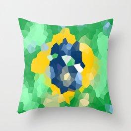 Brazil  Throw Pillow