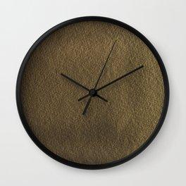 Warm Textured Paper effect Wall Clock