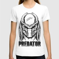 predator T-shirts featuring Predator by OneAppleInBox