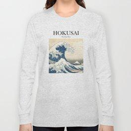 Hokusai - The Great Wave Long Sleeve T-shirt