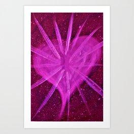 LIGHT HEART Art Print