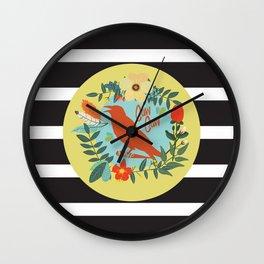 Caw Caw Wall Clock