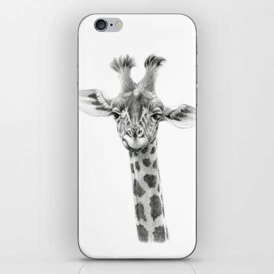 Young Giraffe  G2012-053 iPhone & iPod Skin