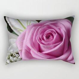 Smell The Roses Rectangular Pillow