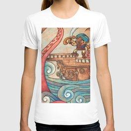 Simbad: Monsters of deep sea. T-shirt
