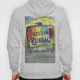 kiss in public Hoody