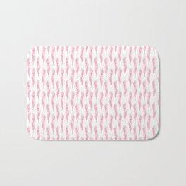 Light as a pink feather Bath Mat
