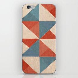 Trigonale 3 iPhone Skin
