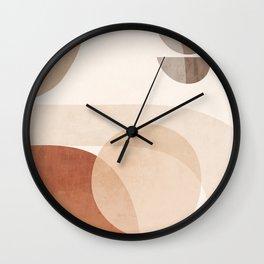 Abstract Minimal Shapes 16 Wall Clock