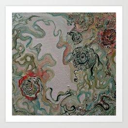 Lauren Nemchik - Lady Smoke Art Print