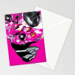 Pink Dog Portrait Stationery Cards
