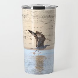 Seagull bird taking off Travel Mug