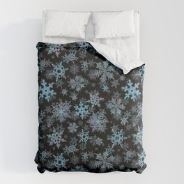 """Embroidered"" Snowflakes Comforters"