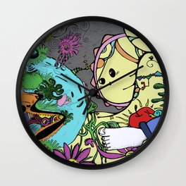 Worlds Wall Clock