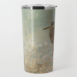 North Carolina Heron Travel Mug