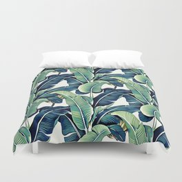 Banana leaves Duvet Cover