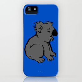 The amusing koala iPhone Case