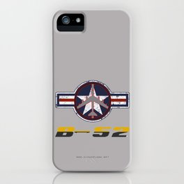 B-52 with Insignia  iPhone Case