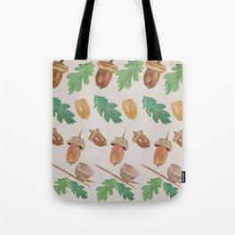 Acorn - gouache Tote Bag