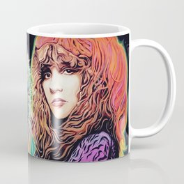 Stevie Nicks Tribute Mural: Wouldn't You Love to Love Her // Music Women Rock and Roll Fleetwood Coffee Mug