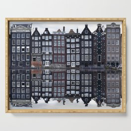 Amsterdam houses 1. Serving Tray