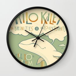 Rilo Kiley Wall Clock