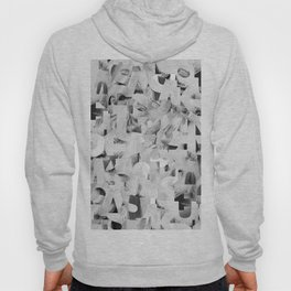 Abstract typography Hoody