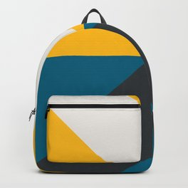 Split X Teal & Yellow Backpack
