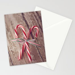 Candy Canes 2 Stationery Cards