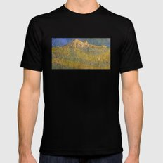 Erebor, The Lonely Mountain MEDIUM Black Mens Fitted Tee
